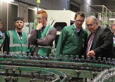 Glaswerk Ernstthal GmbH – Frischmann Kunststoffe GmbH Eisfeld – eines von 30 Unternehmen bei INDUSTRIE INTOUCH 2015