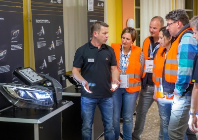 Automotive Lighting Brotterode GmbH – eines von 30 Unternehmen bei INDUSTRIE INTOUCH 2016 (Foto: Michael Reichel/arifoto.de)