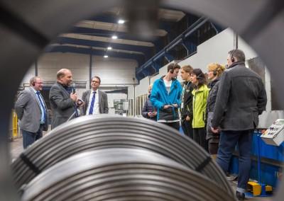 Westfälische Drahtindustrie GmbH – eines von 30 Unternehmen bei INDUSTRIE INTOUCH 2016 (Foto: Michael Reichel/arifoto.de)