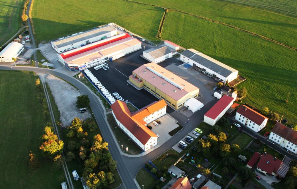 Außenansicht des Firmengebäudes der Wegra Anlagenbau GmbH Westenfeld