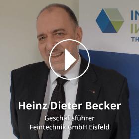 Portrait Heinz Dieter Becker Feintechnik GmbH Eisfeld