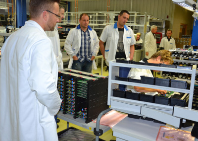 Die ABS electronic Meiningen GmbH – eines von 24 Unternehmen bei INDUSTRIE INTOUCH 2014