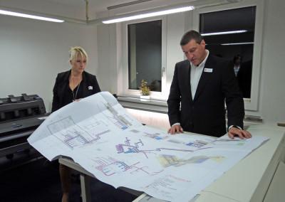 Die AUMA-TEC Ausbau-, Umwelt- u. Anlagen-Technik GmbH in Suhl – eines von 24 Unternehmen bei INDUSTRIE INTOUCH 2014