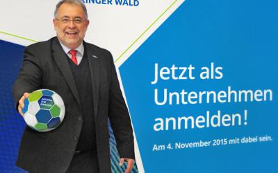 Kick-off für INDUSTRIE INTOUCH Thüringer Wald 2015