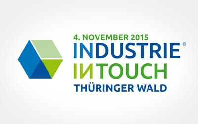 Pressedownload: Logo INDUSTRIE INTOUCH Thüringer Wald 2015