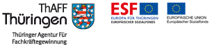 Logo Thüringer Agentur Für Fachkräftegewinnung (ThAFF) - Zur Internetseite