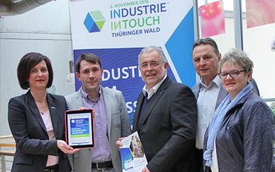 INDUSTRIE INTOUCH Thüringer Wald rührt auch 2016 die Werbetrommel für Unternehmen und Region