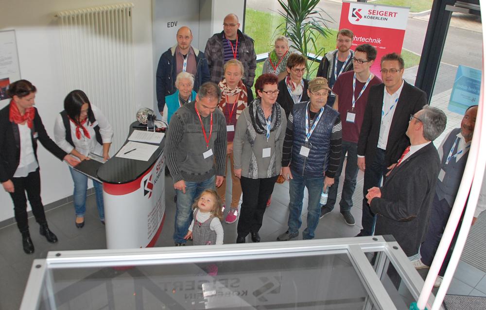 INDUSTRIE INTOUCH Veranstaltung 2015 Impressionen der Köberlein & Seigert GmbH in Grabfeld