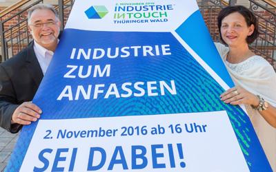 """""""INDUSTRIE ZUM ANFASSEN"""" im Thüringer Wald zum dritten Mal in Folge"""