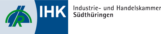 Logo IHK Industrie- und Handelskammer Südthüringen - Zur Internetseite