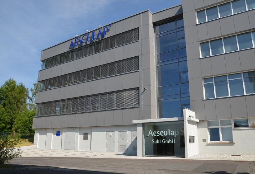 Aesculap Suhl GmbH  – ein Unternehmen bei INDUSTRIE INTOUCH Thüringer Wald 2018