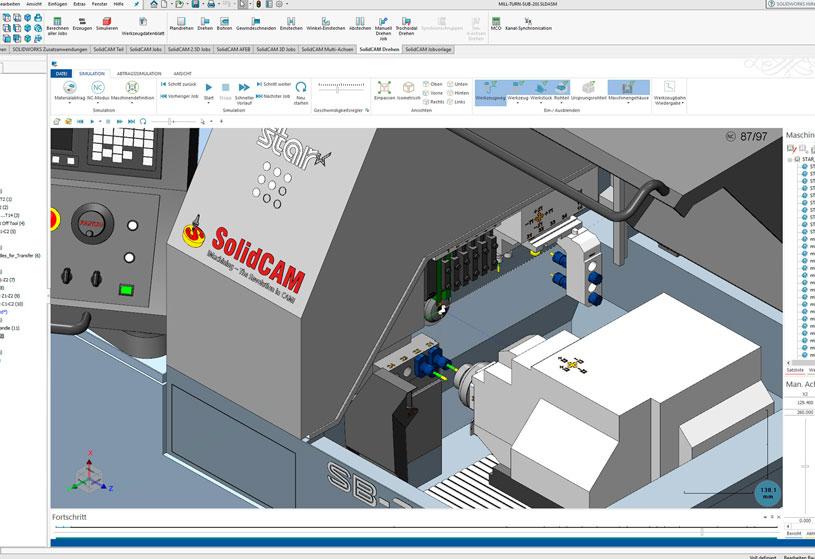 SolidCAM GmbH – Ein Unternehmen bei INDUSTRIE INTOUCH Thüringer Wald 2018