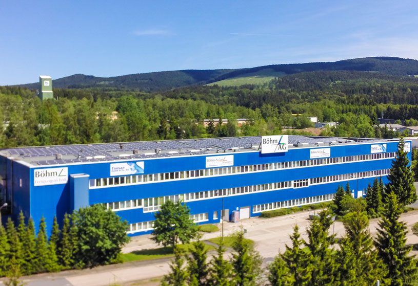Böhm Fertigungstechnik Suhl GmbH – Ein Unternehmen bei INDUSTRIE INTOUCH Thüringer Wald 2020