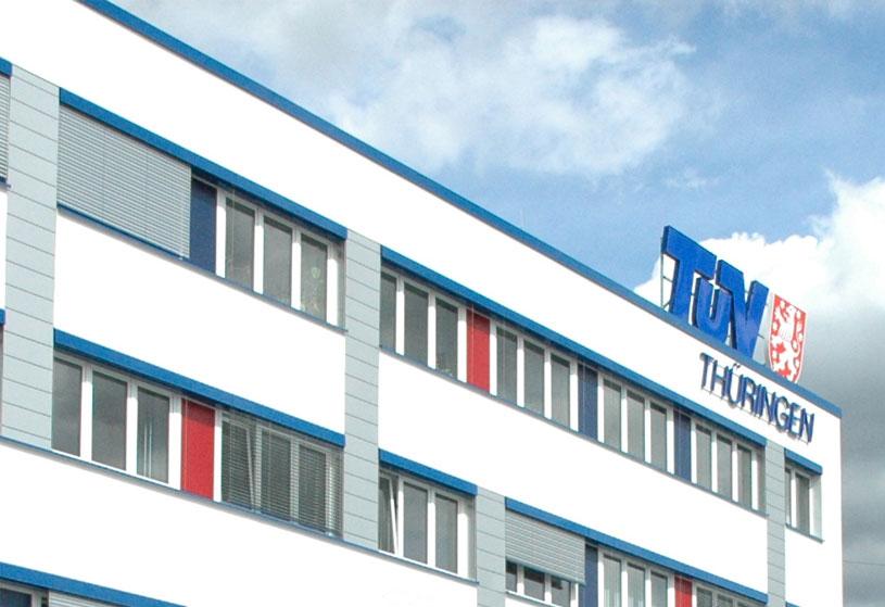 TÜV Thüringen e.V. – Ein Unternehmen bei INDUSTRIE INTOUCH Thüringer Wald 2019