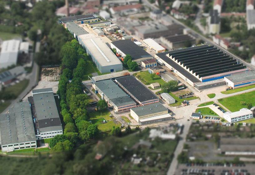 Firmengelände der Gelenkwellenwerk Stadtilm GmbH