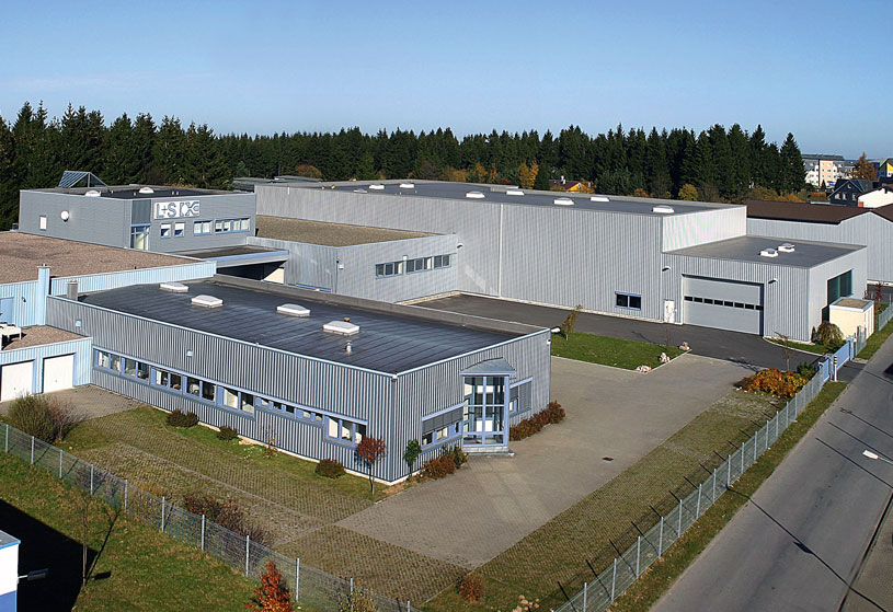 Firmengebäude Saint-Gobain Performance Plastics L+S GmbH – Ein Unternehmen bei INDUSTRIE INTOUCH Thüringer Wald 2019