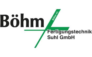 Logo Böhm Fertigungstechnik Suhl GmbH