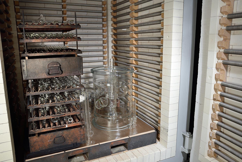 Brennofen zur Glasherstellung bei der Pfaudler Normag Systems GmbH