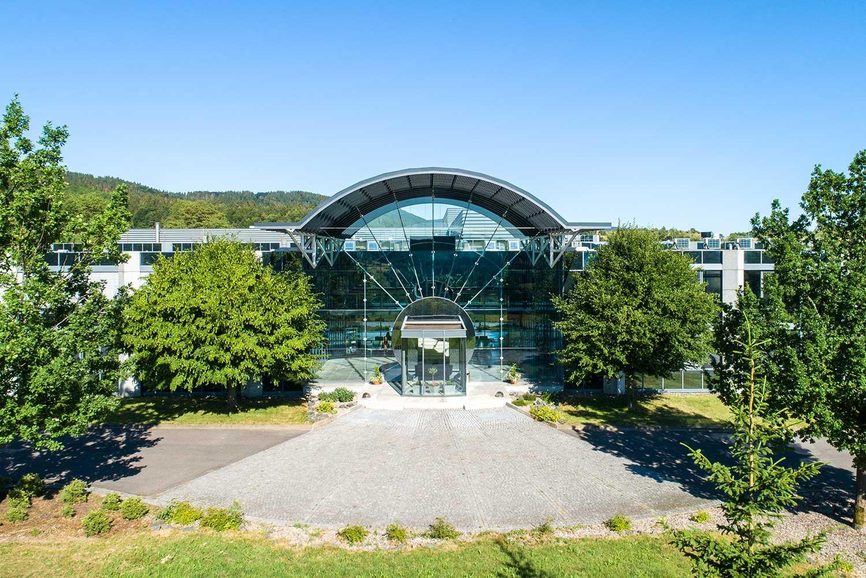 Außenaufnahme des Firmengebäudes der CDA GmbH