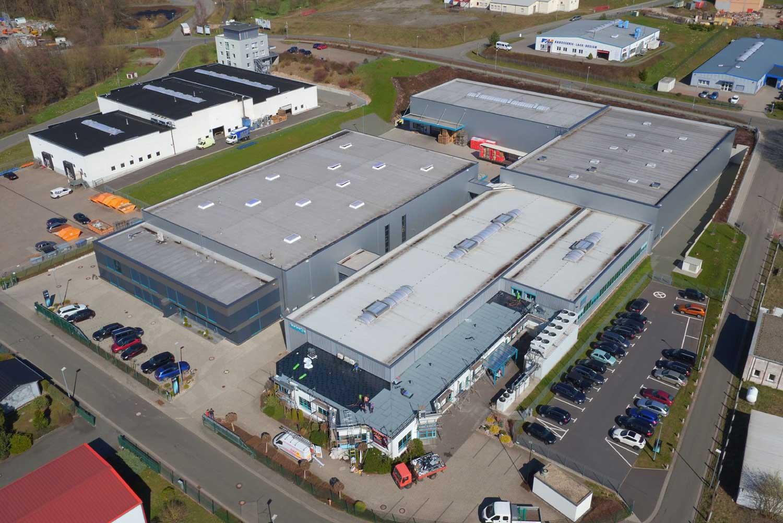 Firmengelände der Hehnke GmbH & Co. KG