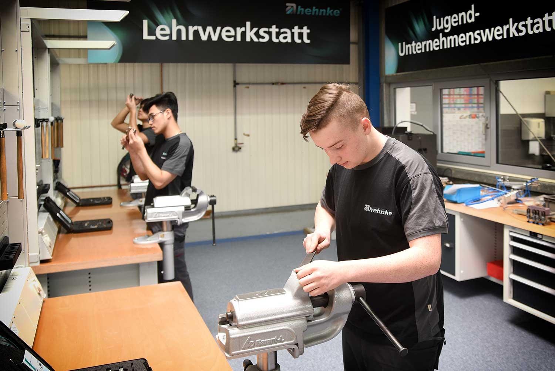 Lehrwerkstatt der Hehnke GmbH & Co. KG