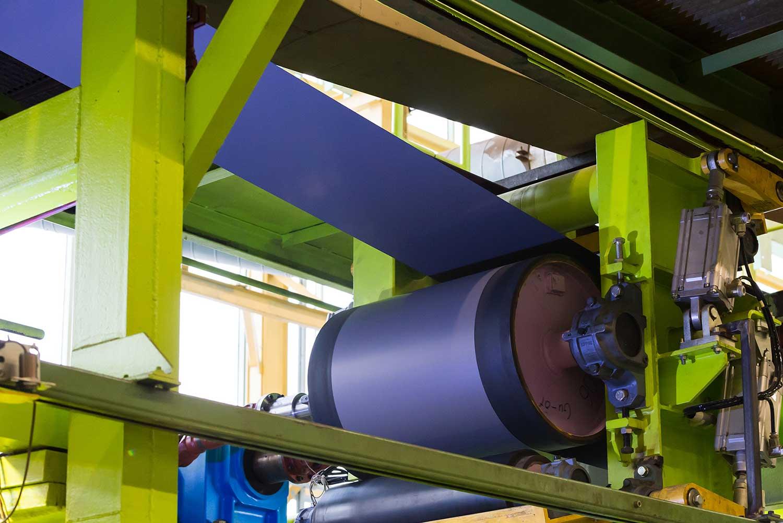 Beschichter-Maschine der HFP Bandstahl GmbH