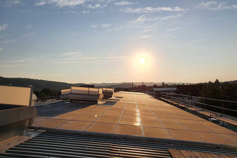 Photovoltaikanlage der HFP Bandstahl GmbH