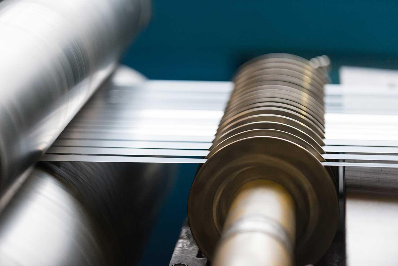 Detail einer Maschine