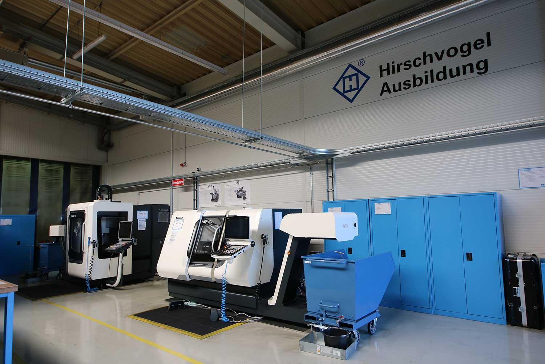 Ausbildungsbereich der Hirschvogel Eisenach GmbH
