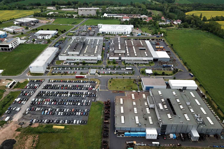 Firmengelände der Hirschvogel Eisenach GmbH