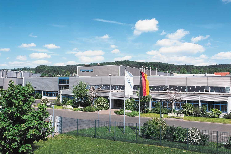 Eingang des Firmengeländes der Hirschvogel Eisenach GmbH