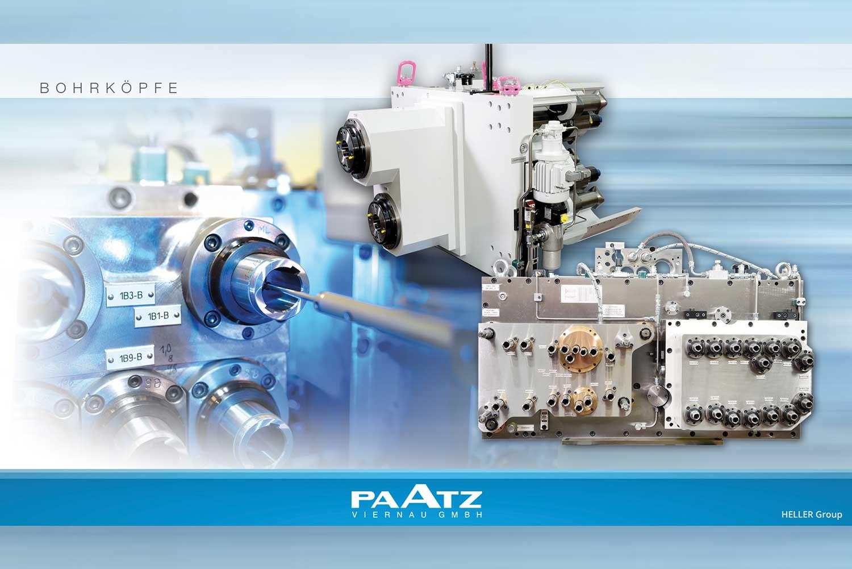 Bohrköpfe der PAATZ Viernau GmbH