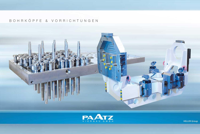 Bohrköpfe und Vorrichtung der PAATZ Viernau GmbH