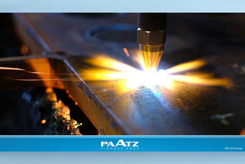 Schweißen bei der PAATZ Viernau GmbH