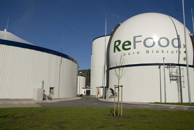 Detail der Außenanlage von ReFood GmbH & Co. KG