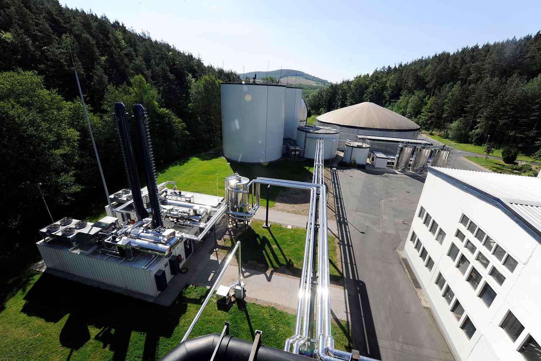 Außenanlage von ReFood GmbH & Co. KG