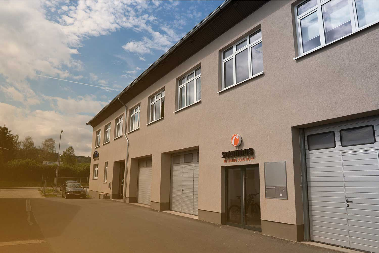 Firmengebäude der solvimus GmbH