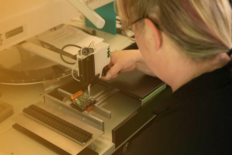 Produktion der solvimus GmbH