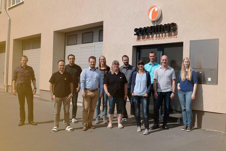 Team der solvimus GmbH