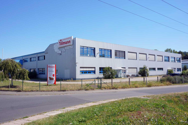 Firmengebäude der Tillmann Verpackungen Schmalkalden GmbH