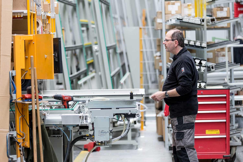 Mitarbeiter der TMP Fenster + Türen GmbH