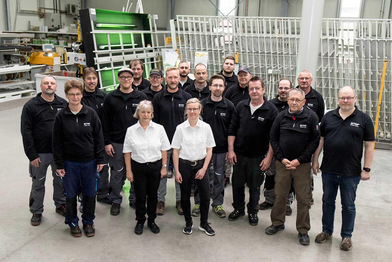 Team der TMP Fenster + Türen GmbH