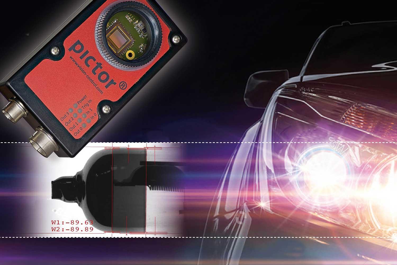 Glühlampenmessung der Vision & Control GmbH
