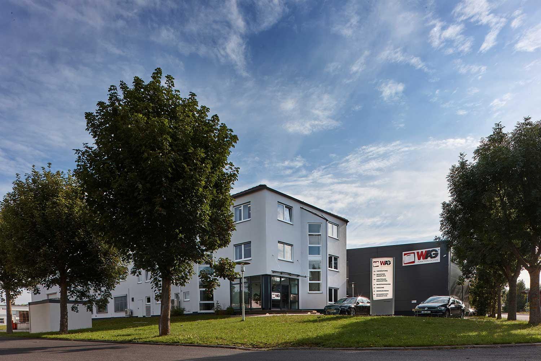 Firmengebäude der W.AG Funktion + Design GmbH