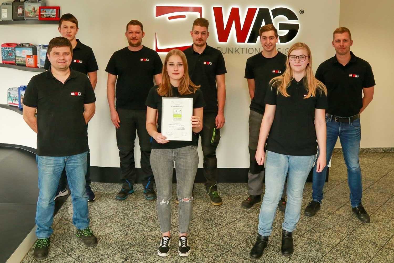 Mitarbeiter der W.AG Funktion + Design GmbH