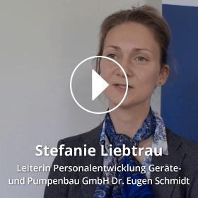 Portrait Stefanie Liebtrau Geräte- und Pumpenbau GmbH Dr. Eugen Schmidt