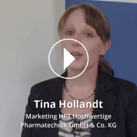 Porttrait Tina Hollandt HPT Hochwertige Pharmatechnik GmbH & Co. KG