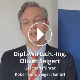 Porttrait Oliver Seigert Köberlein & Seigert GmbH