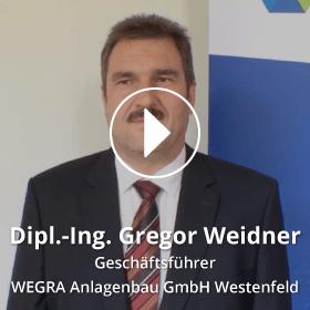 Portrait Gregor Weidner WEGRA Anlagenbau GmbH Westenfeld